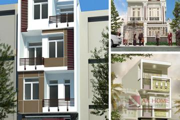 Mẫu thiết kế nhà phố 3 tầng đẹp theo xu hướng mới nhất 2015 – 2016