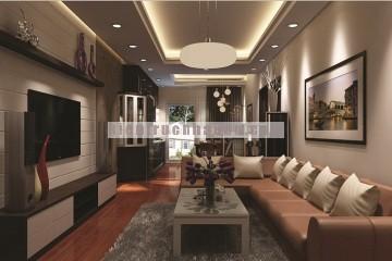 Nội thất căn hộ 92m2 khu đô thị Ciputra