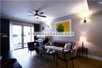 Cải tạo căn hộ chung cư kết hợp nét cổ điển và hiện đại
