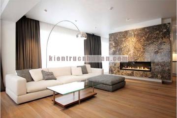 Nội thất nhà 2 tầng mang phong cách hiện đại