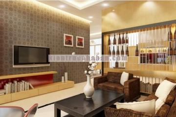 Thiết kế nội thất căn hộ chung cư hiện đại có 2 phòng ngủ