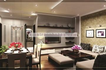 Thiết kế nội thất chung cư 105m2 HH2 – Bắc Hà