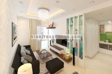Thiết kế nội thất tiện nghi cho căn hộ chung cư có diện tích nhỏ