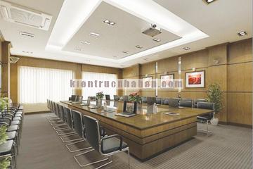 Thiết kế nội thất văn phòng khu đô thị Tràng Thi