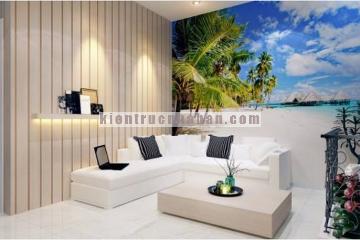 Thiết kế nội thất căn hộ 3 tầng diện tích 64m2
