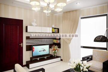 Mẫu thiết kế nội thất căn hộ chung cư cao cấp royal city