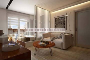 Thiết kế đẹp cho chung cư 1 phòng ngủ