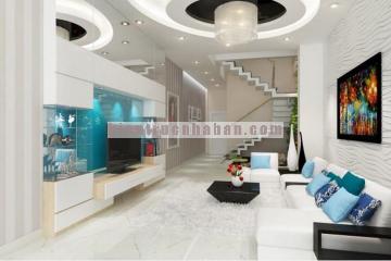 Mẫu thiết kế nội thất nhà 4 tầng hiện đại cho gia đình 3 thế hệ
