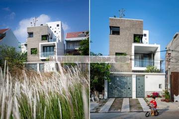 Thiết kế nhà phố 3 tầng đẹp với diện tích 112m2