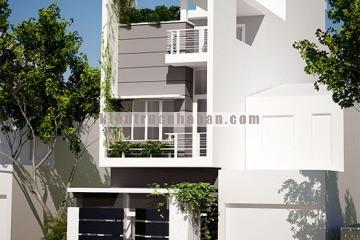 Nhà phố đẹp 3 tầng với nội thất sang trọng