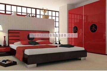 Mẫu phòng ngủ phong cách Nhật hiện đại