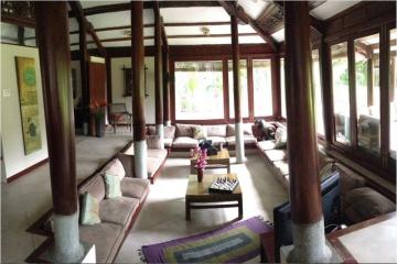 Biệt Thự xây dựng theo phong cách nhà cổ của người Việt