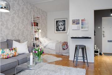 Thiết kế căn hộ 38m2 hiện đại