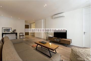 Nội thất căn hộ 120m2 đơn giản và tiện nghi