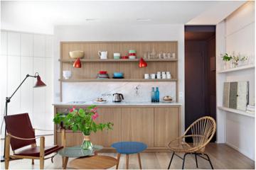 Thiết kế nội thất căn hộ 28m2 cho người độc thân