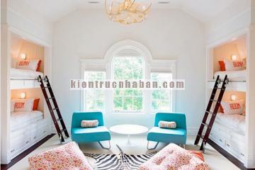 Những mẫu giường tầng đẹp cho phòng của bé