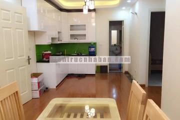 Thiết kế nội thất căn hộ 1 phòng ngủ 45m2 chung cư HH4 Linh Đàm