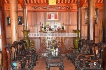 Nhà gỗ lung linh của nông dân Đăk Lăk