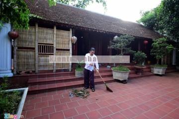 Ngôi nhà gỗ cổ của diễn viên hài Vượng Râu
