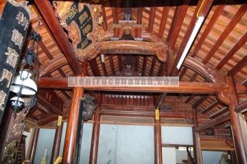 Nhà gỗ Lim 3 gian kiến trúc kẻ truyền phù hợp thờ phụng tổ tiên