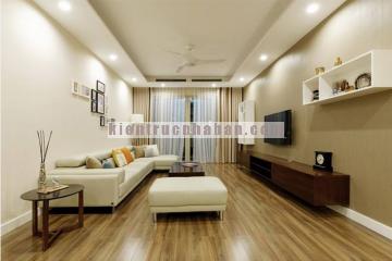 Thiết kế nội thất căn hộ 2 phòng ngủ với chi phí 425 triệu đồng