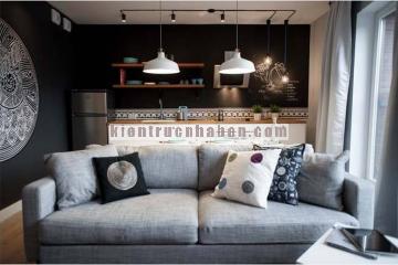 Thiết kế căn hộ chung cư nhỏ theo phong cách Châu Âu hiện đại