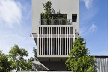Thiết kế nhà phố 4 tầng với không gian sống tiện nghi