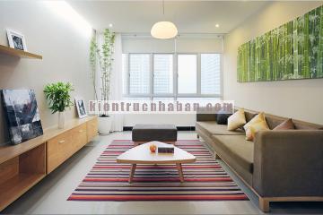 Mẫu nội thất căn hộ chung cư 100m2 có 2 phòng ngủ