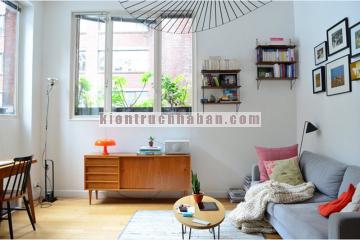 Thiết kế nội thất nhỏ xinh cho căn hộ 40m2 vơi chi phí thấp
