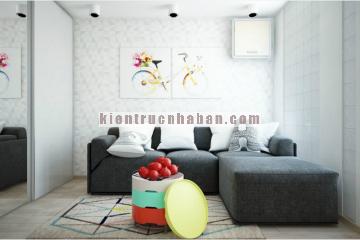 Tận dụng tối đa diện tích cho căn hộ chung cư 52m2
