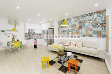 Cải tạo căn hộ hơn 80m2 với chi phí thấp