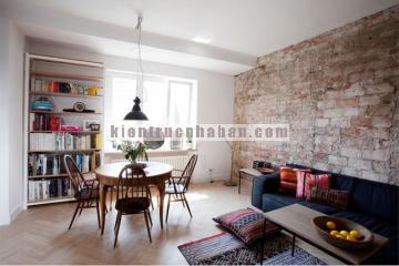 Thiết kế nội thất căn hộ chung cư nhỏ theo phong cách hiện đại