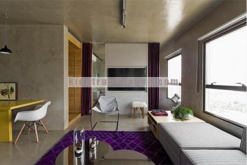 Thiết kế nội thất căn hộ chung cư 70m2 tinh tế và đầy tính nghệ thuật